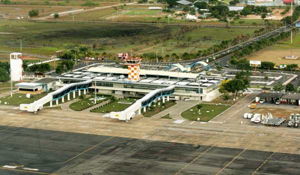 Quais os aeroportos mais ao norte do país?